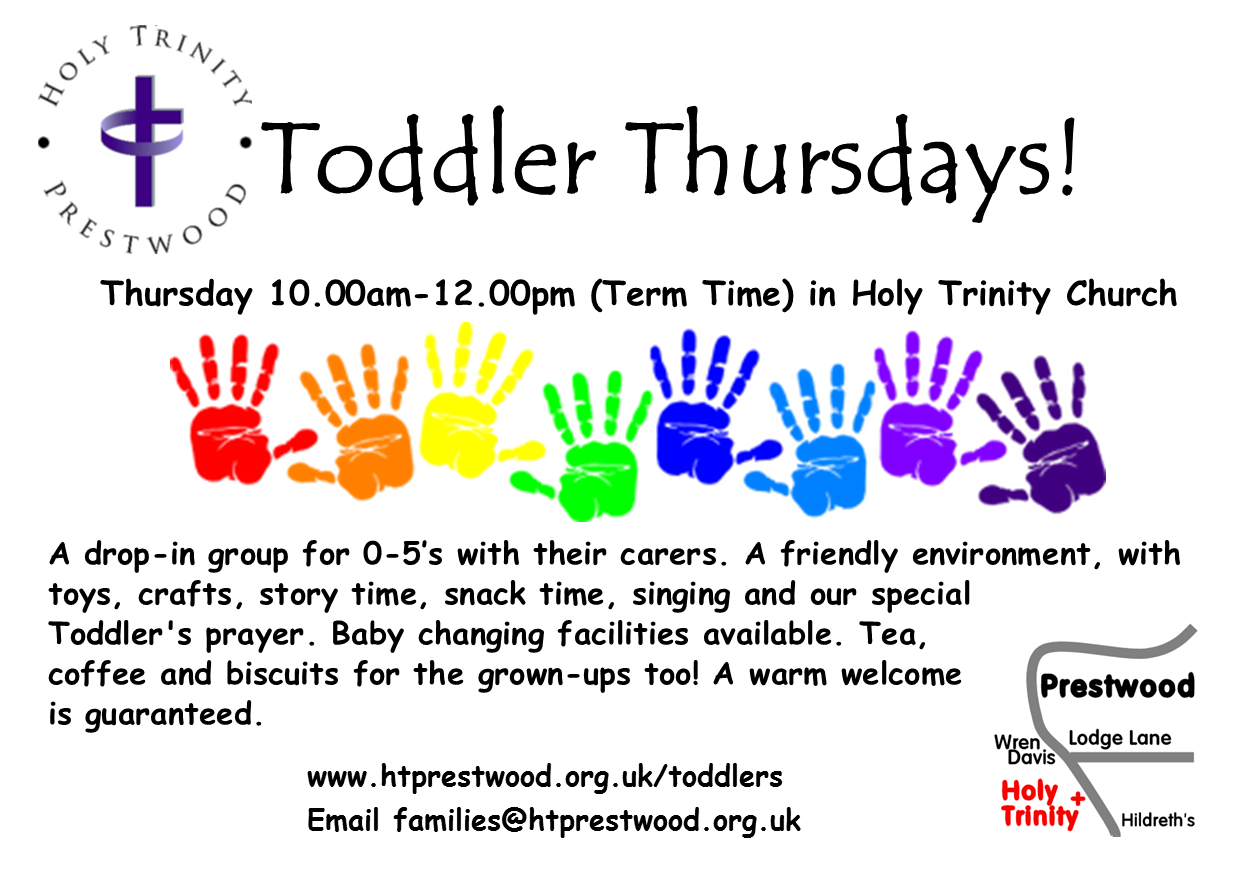 Toddler Thursday poster