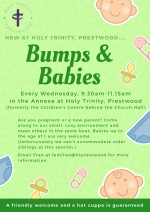 Bumps and Babies at Holy Trinity, Prestwood